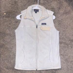 Women's White Patagonia Vest